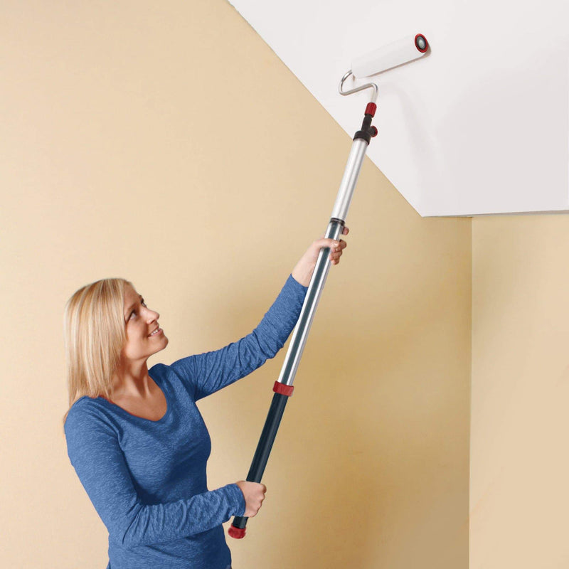 Long Reach Extendable Paint Syringe Roller – Easy Decorating For Interior and Exterior Walls & Ceilings