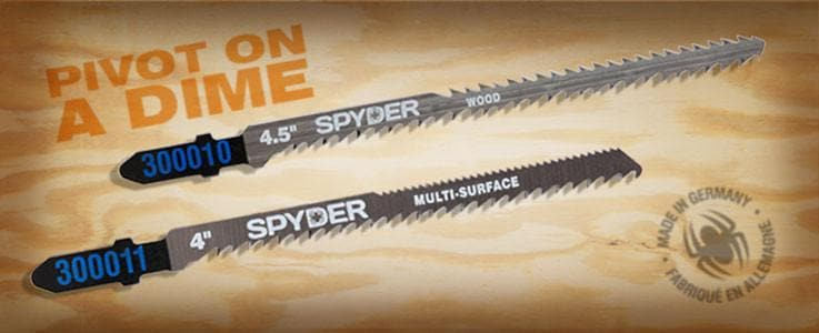 spyder double sided precision blades