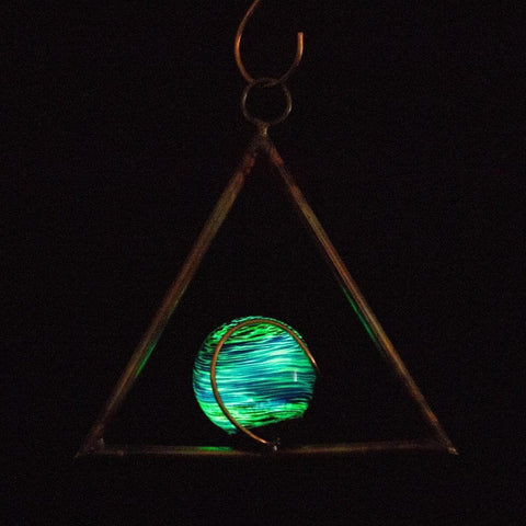 glowing sun catcher