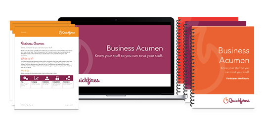 Business Acumen Training Course Materials