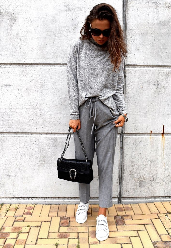TRENDDAY // WEARING ALL GREY