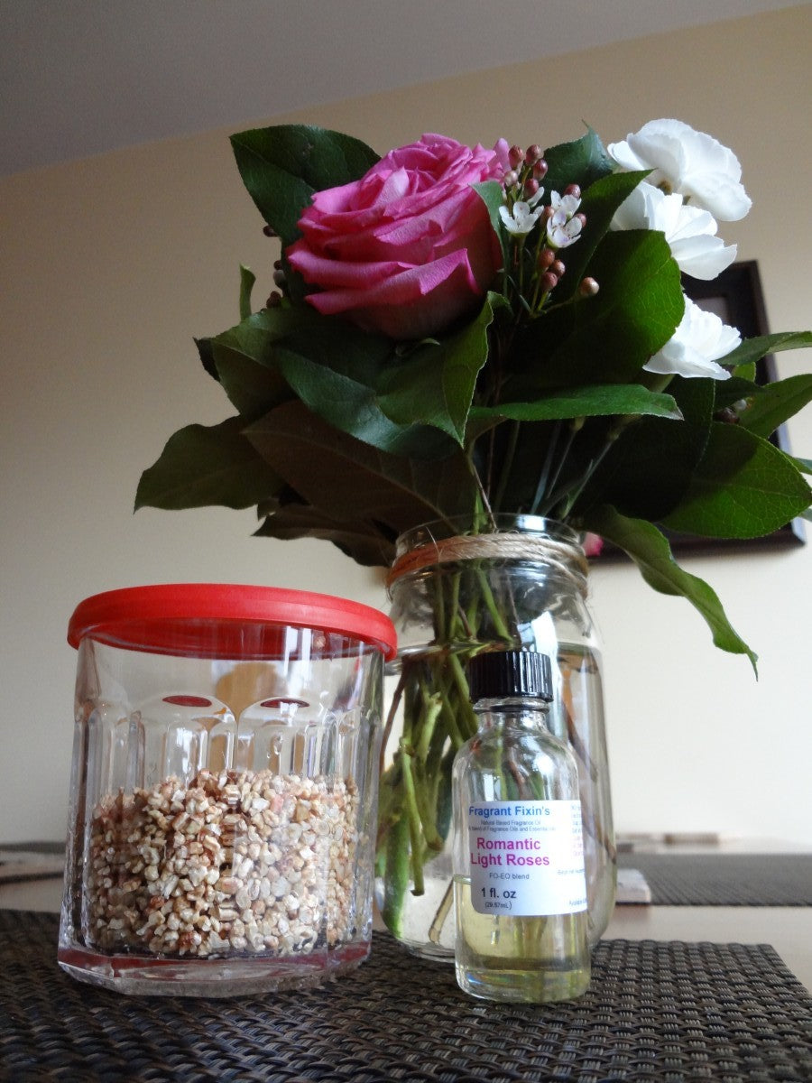 Rose buds and leaves, Valentine's Day Sachets