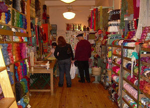 Downtown Yarns In New York City