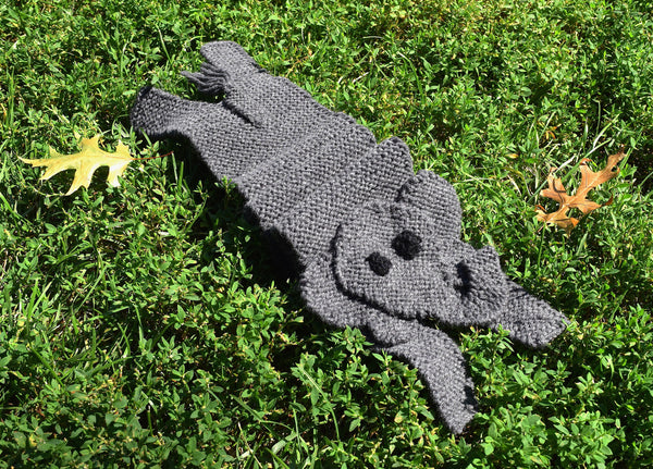 Elephant Scarf - Hand Knitting Kit