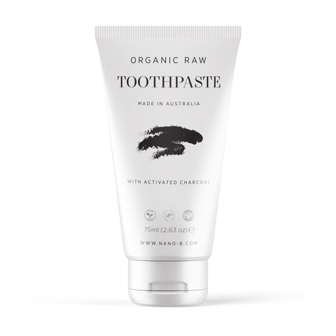 Organic and Raw Charcoal Toothpaste