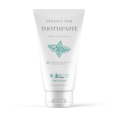 Organic and Raw Mint Toothpaste