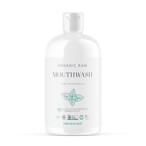Organic and Raw Mouthwash