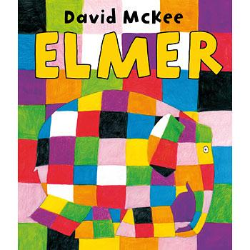 Elmer the Patchwork Elephant book