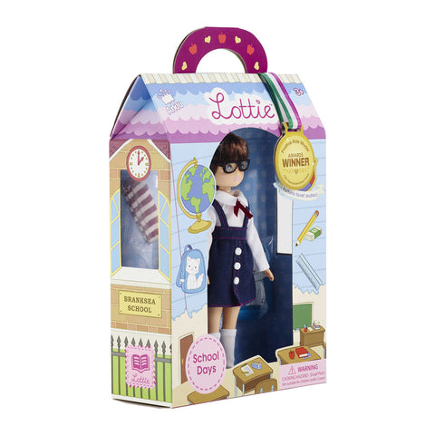 School Days Lottie Doll in gift box