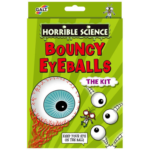 Bouncy Eyeballs Horrible Science