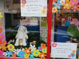 Easter themed window