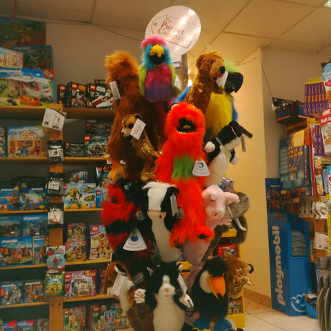 Puppets at Giddy Goat Toys
