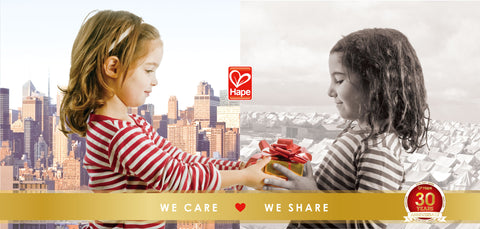 Hape We Care We Share
