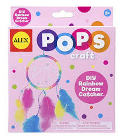 Pops Craft - DIY Rainbow Dreamcatcher