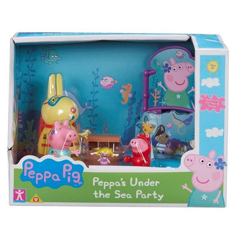 PEPPA PIG PLAYSET - Peppa's Under the Sea Party