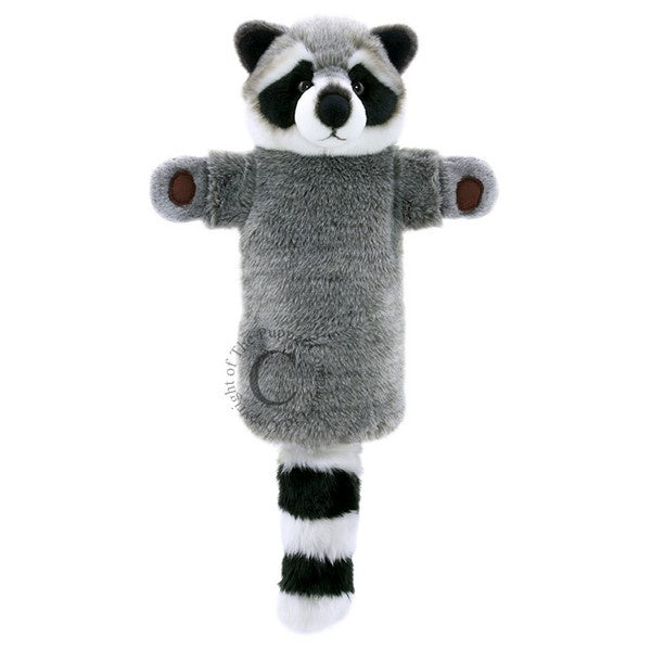 Long-Sleeves Raccoon Handpuppet