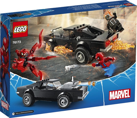 Lego Spiderman - Spider-Man and Ghost Rider vs. Carnage 76173