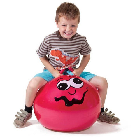 JUNIOR SPACE HOPPER RED