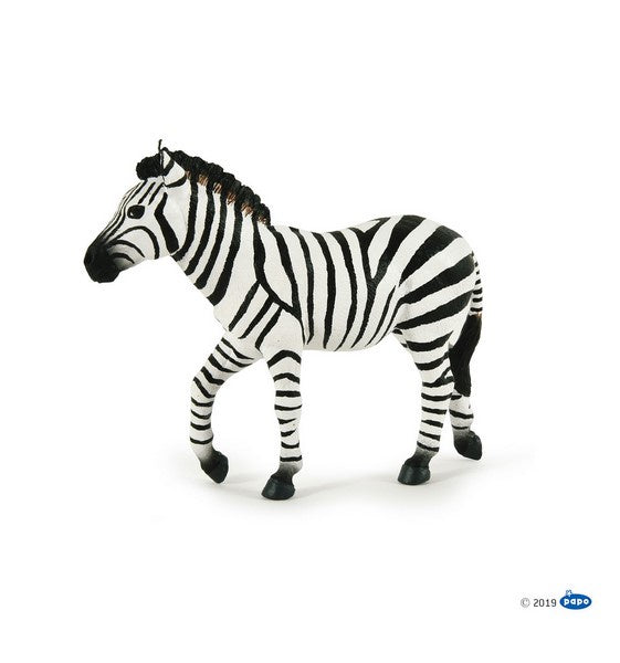 Papo Wild Animals - Male zebra