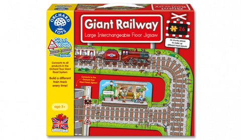 Giant Railway Jigsaw - 22 piece floor puzzle