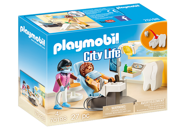 Playmobil 70198 City Life Dentist