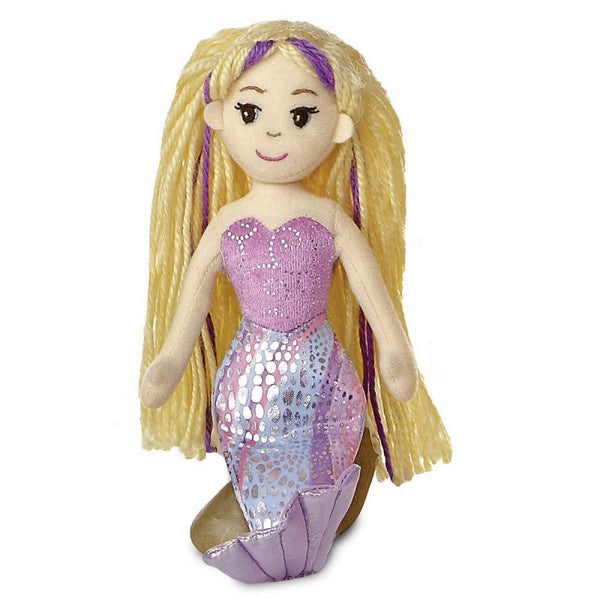 Sea Sparkles - Mermaid Doll Serena 10""