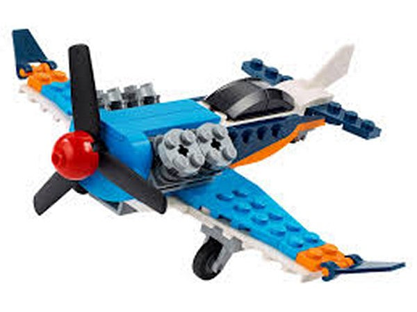 Lego City Propeller Plane 31099