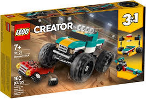 Lego City Monster Truck 31101