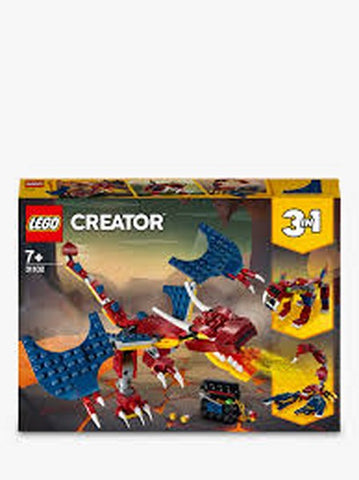 Lego Creator Fire Dragon 31102