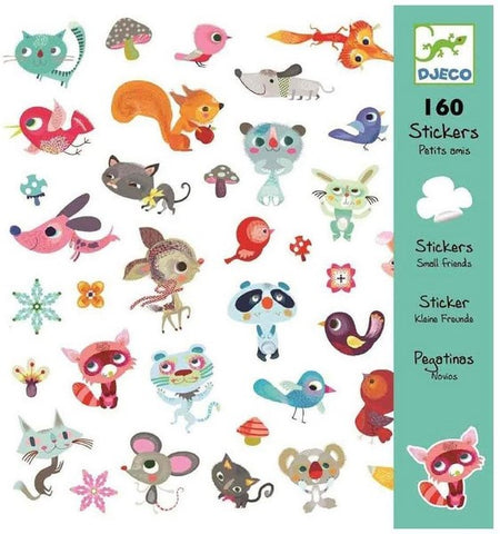 Djeco Stickers - Little Friends.  DJ08842