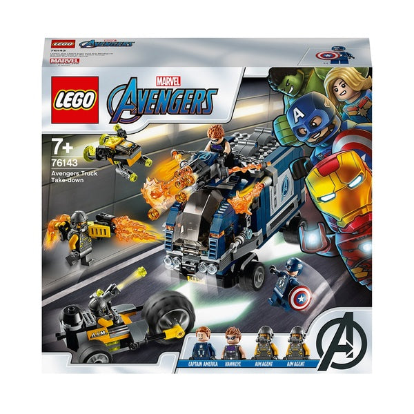 Lego Avengers Truck Take-down 76143
