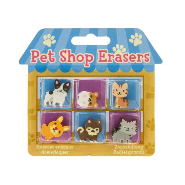 PET SHOP ERASERS
