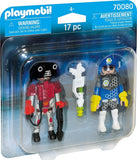 Playmobil Duo Pack - Space Policeman and Thief - 70080