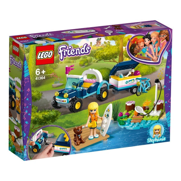 LEGO Friends - Stephanie's Buggy & Trailer 41364
