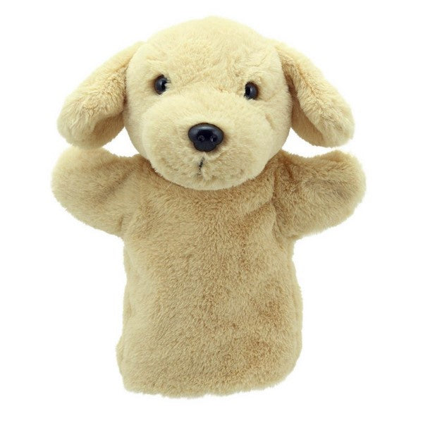 Car Pets Yellow Labrador Hand Puppet