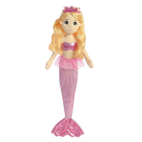 Sea Shimmers - Topaz Mermaid Doll 18""