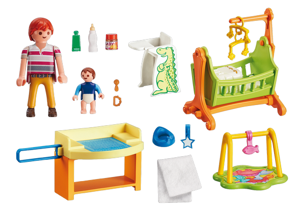 Playmobil Baby Room with Cradle - 5304