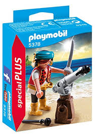 Playmobil Pirate with Cannon - 5378