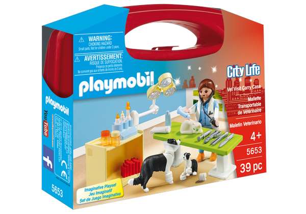 Playmobil Vet Visit Carry Case - 5653