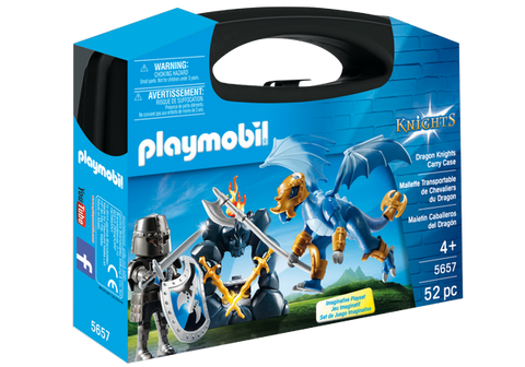 Playmobil Knights Carry Case - 5657