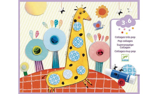 Pop Collages - craft set for children.  DJ08666