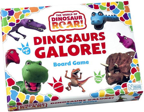 Dinosaurs Galore! board game