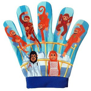 Five little monkeys song mitt