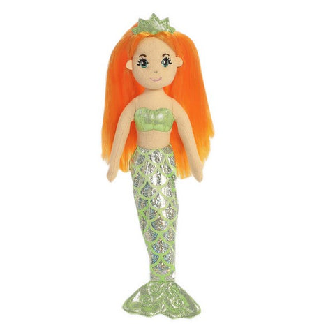 Sea Shimmers - Amber Mermaid Doll 10""