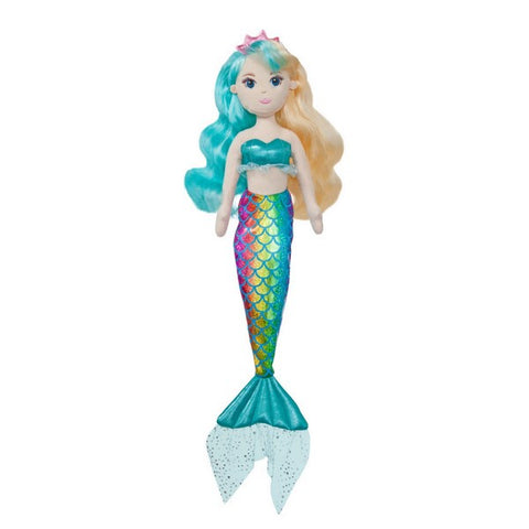 Sea Sparkles - Evie Mermaid Doll 18""