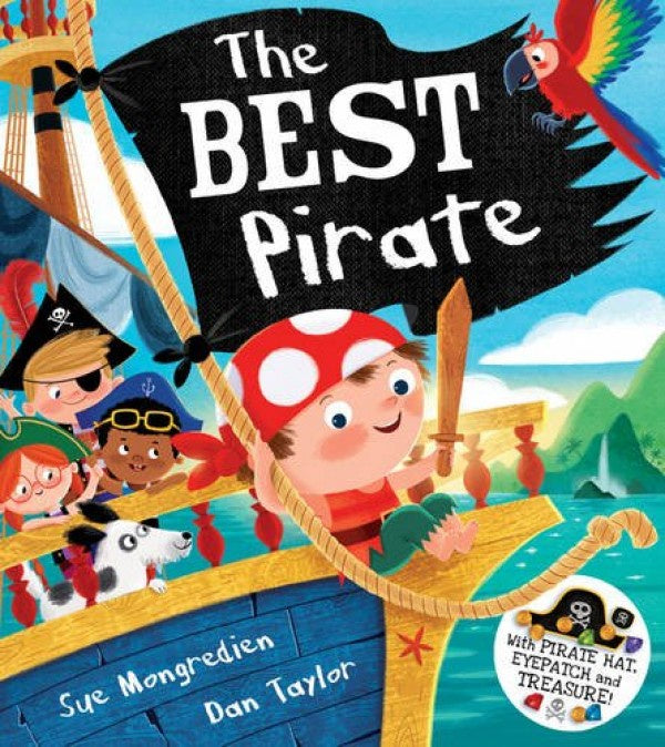 The Best Pirate - picture book by Sue Mongredien