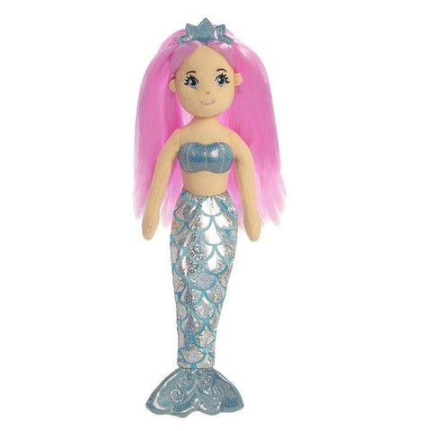 Sea Shimmers - Crystal Mermaid Doll 10""