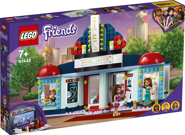 Lego Friends- Heartlake City Movie Theater 41448