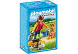 Playmobil Woman with Cat Family - 6139