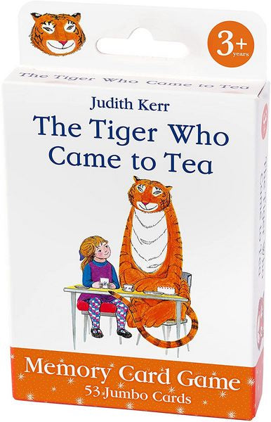 Tiger Who Came To Tea Memory Card Game